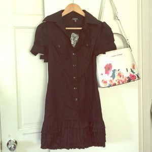 Bebe black dress size S